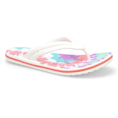 Lds Crocband FlipThong Sandal-Fresco Mlt
