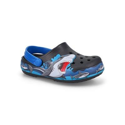 Inf-b FL Shark Lights EVA black clog
