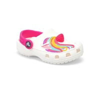Infant's Classic I Am Unicorn EVA Clog - White