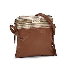 Lds Deja Vu picnic crossbody bag