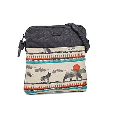 Lds Deja Vu totem crossbody bag