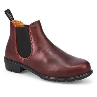 Lds The Ankle shiraz pull on boot
