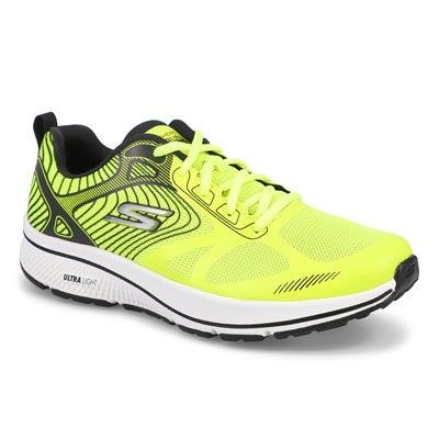 Mns GO Run Lace Up Runner- Yellow