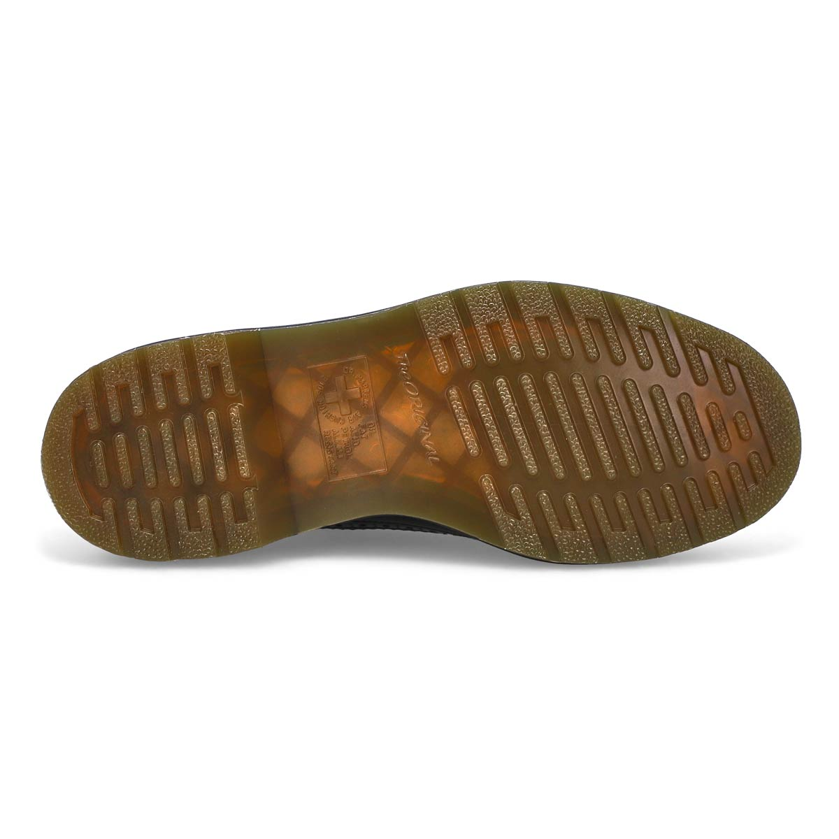 Chaussure Derby 3989 Yellow Stitch noir femmes