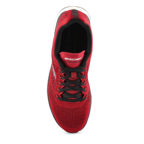 Espad. Ultra Groove, rouge/nr,homme