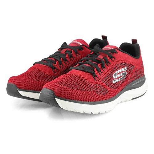 Mns Ultra Groove rd/blk running shoe