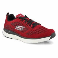 Men's Ultra Groove Running Shoes - Red/Black