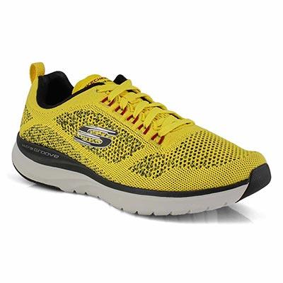 Mns Ultra Groove yellow/blk running shoe