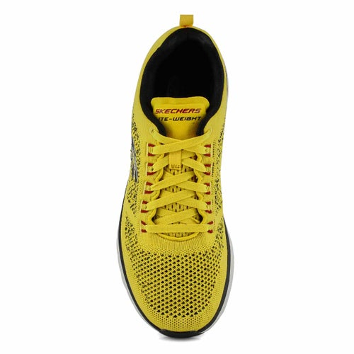 Mns Ultra Groove yellow/blk running shoe