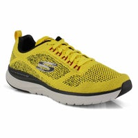Men's Ultra Groove Running Shoes - Yellow/Black