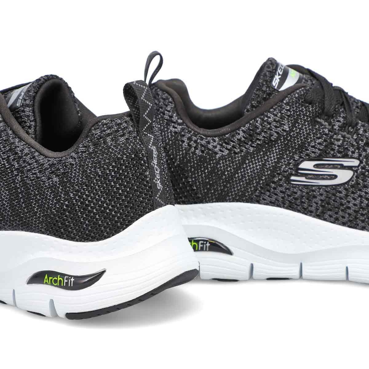 Men's Arch Fit Paradyme Sneakers - Black/White