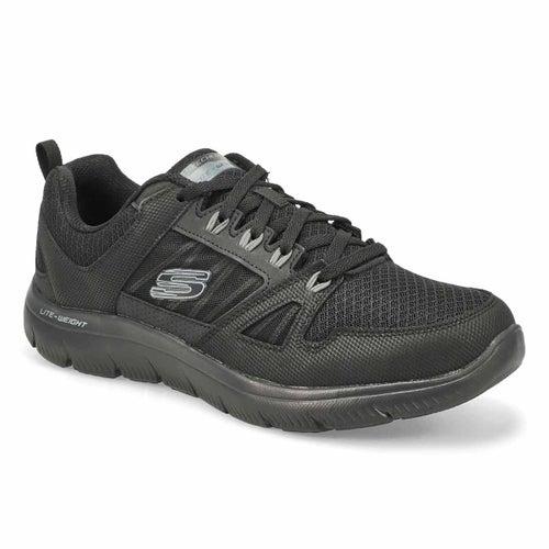 Mns Summits New World black sneaker-WIDE