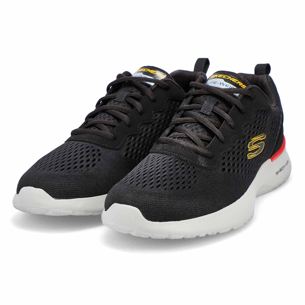 Men's Skech-Air Dynamight Sneaker - Black