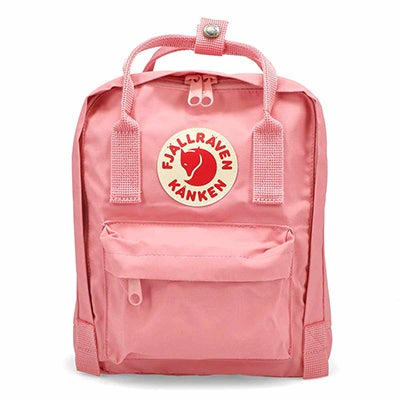 Mini sac à dos rose Fjallraven Kanken
