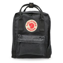 Fjallraven Kanken Mini black backpack