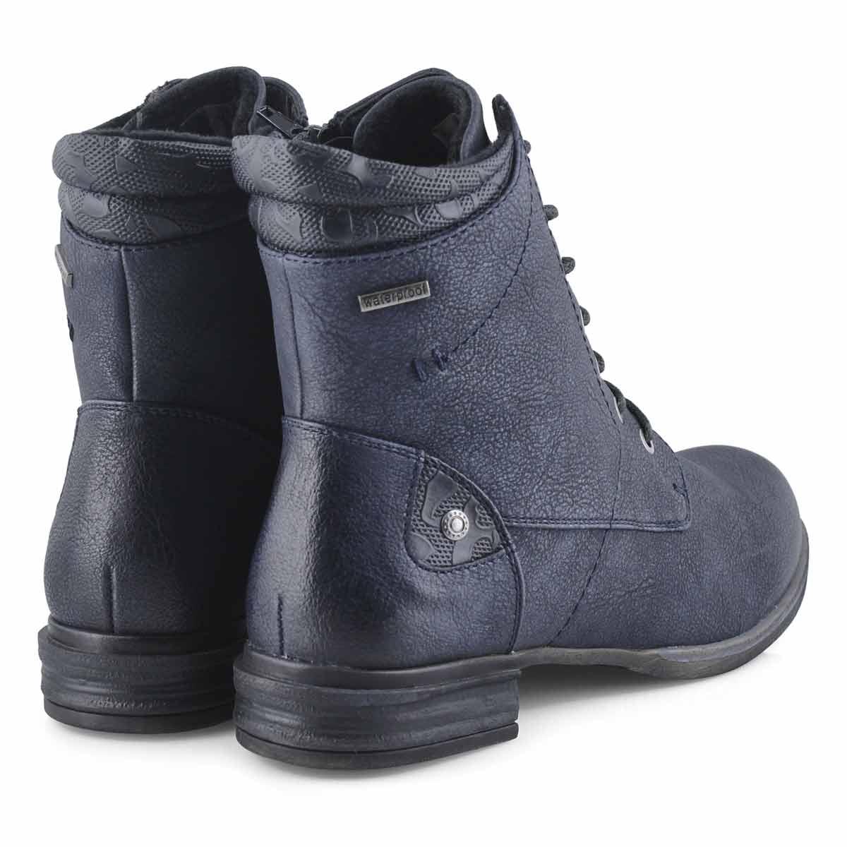 Bottes militaires VENUS 34, bleu marine, femmes