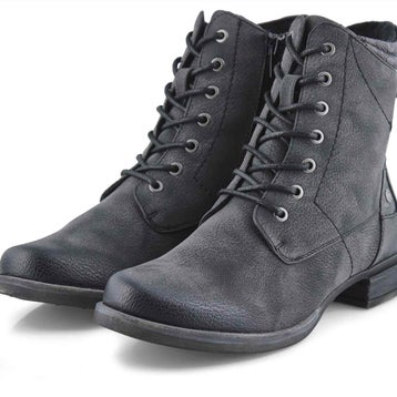 Women's Venus 34 Combat Boot - Grey