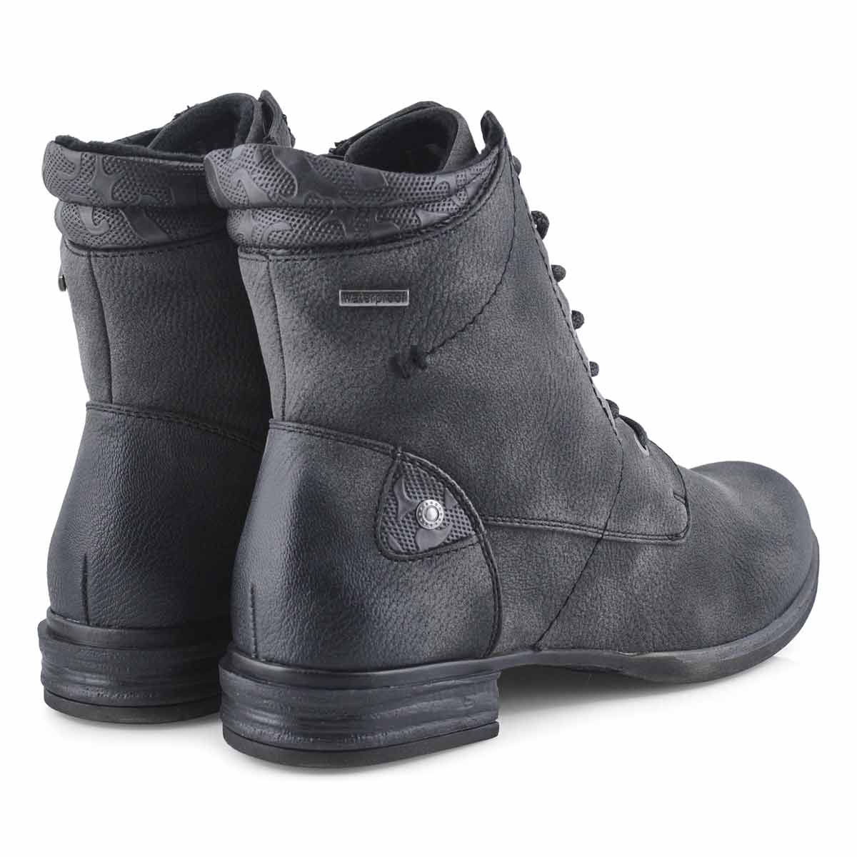 Lds Venus 34 grey combat boot