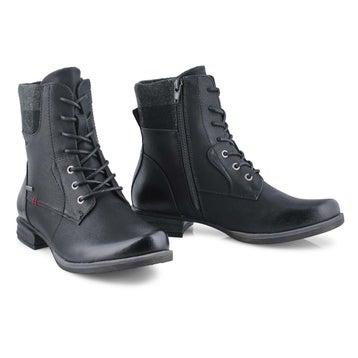 Women's Venus 36 Combat Boot - Black