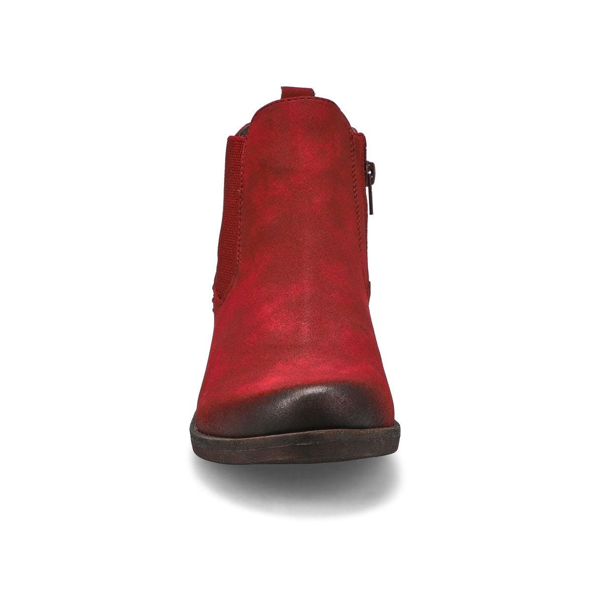 Lds Venus 37 red chelsea boot
