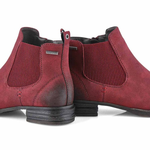 Lds Venus 37 red chelsea boot