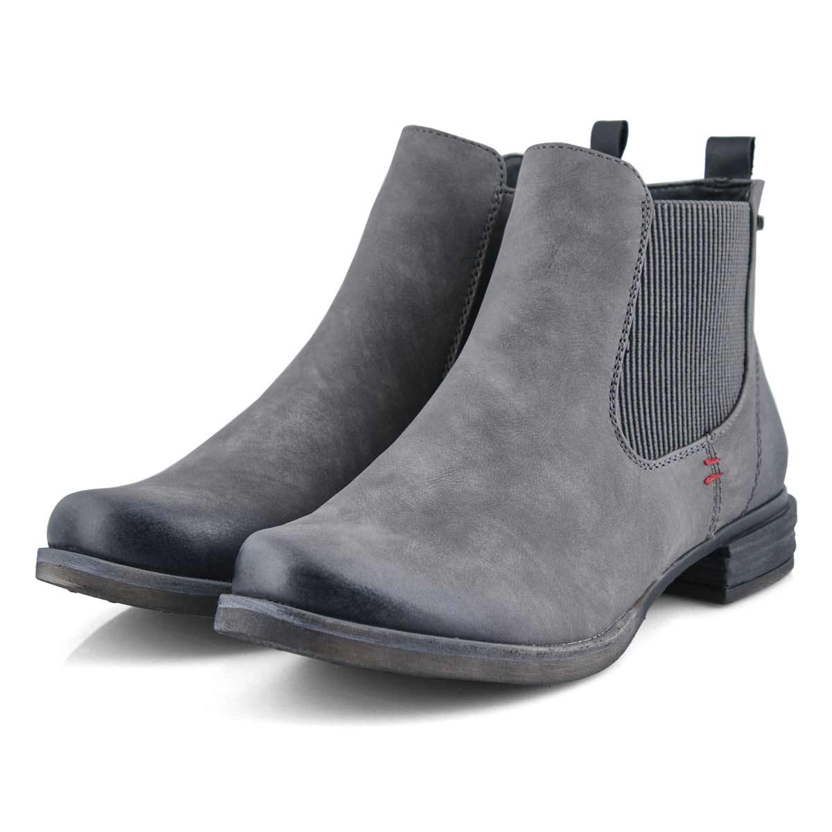 Lds Venus 37 grey chelsea boot