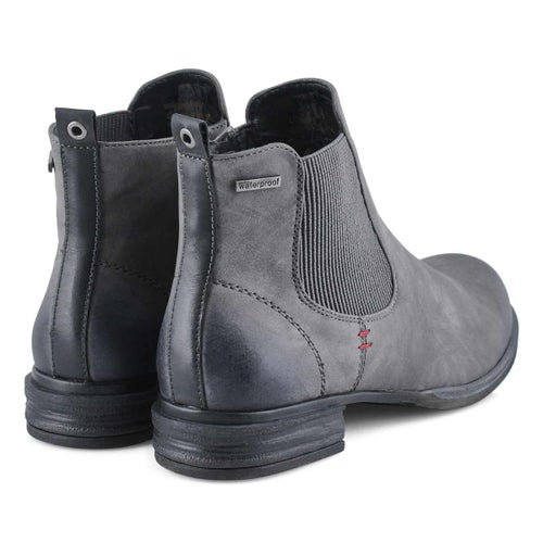 Lds Venus 37 grey chelsea boot