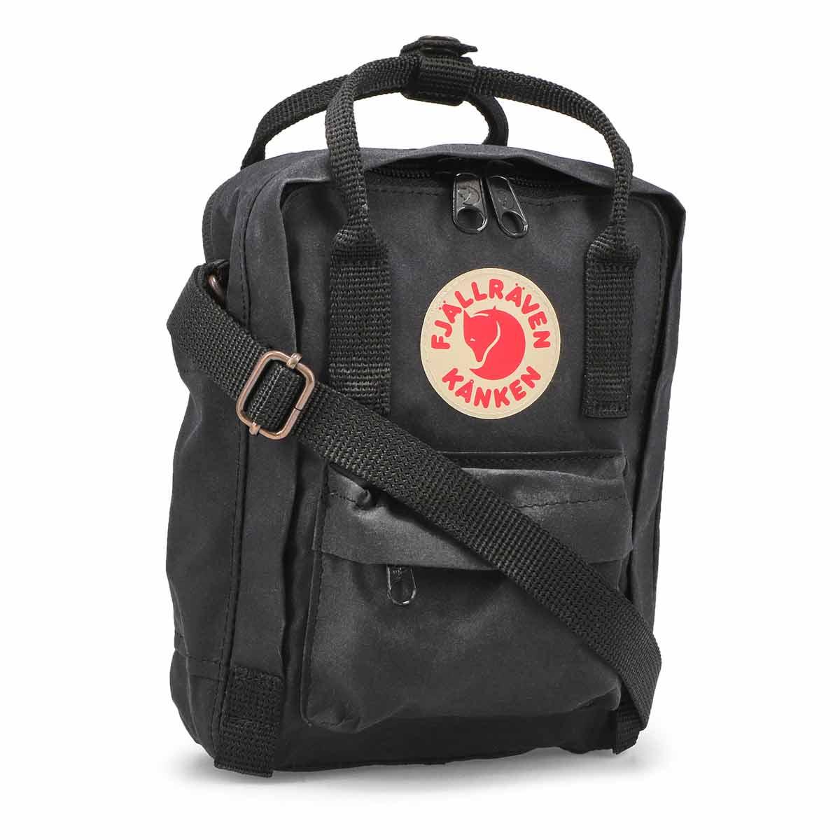 Fjallraven Kanken Sling Backpack - Black