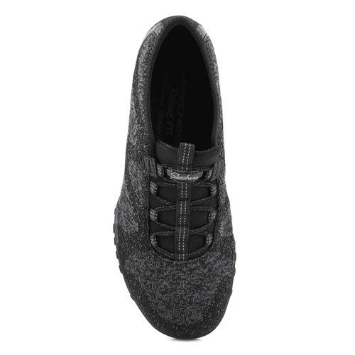Lds Breathe-Easy black slip on snkr