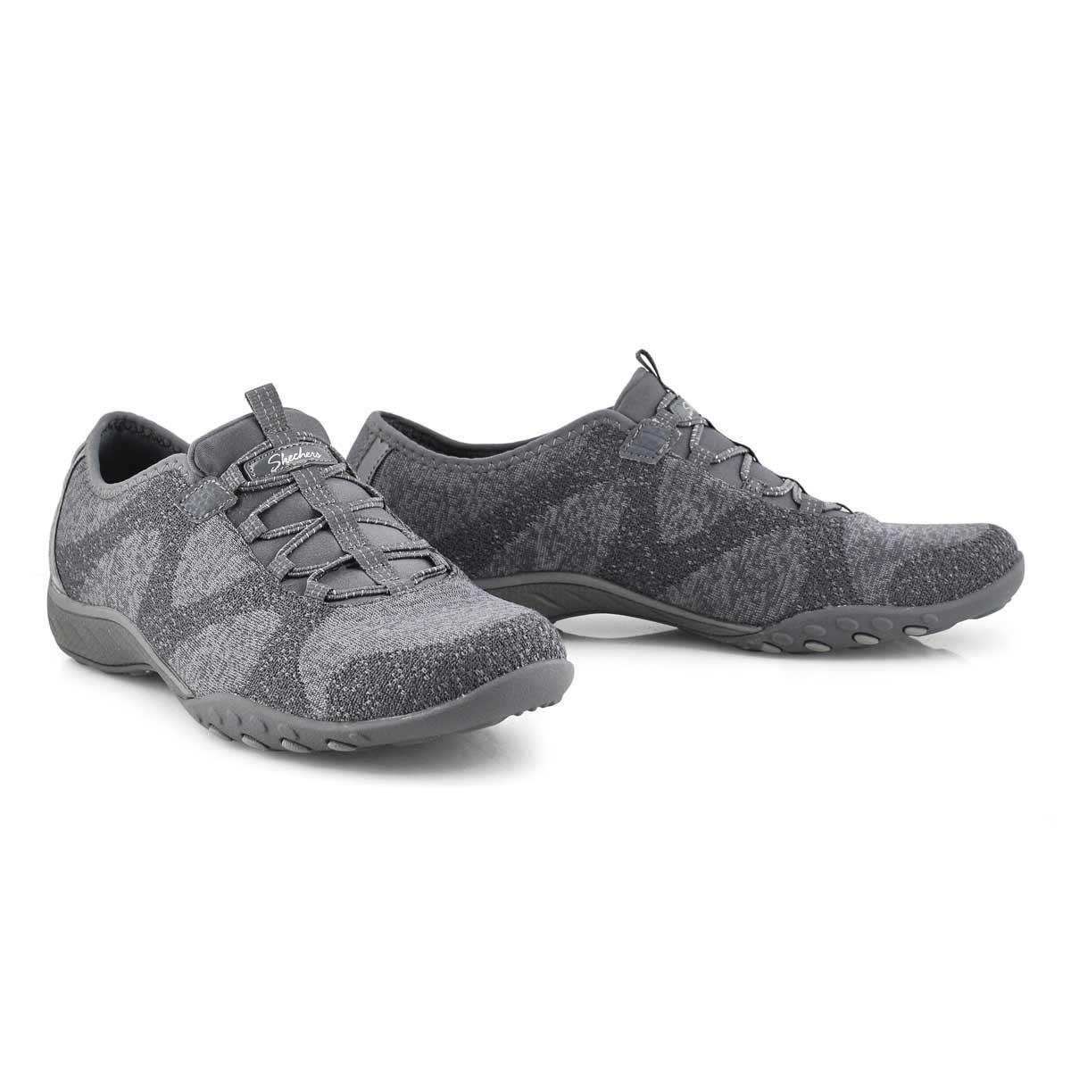 Women's Breathe Easy Sneaker - Charcoal