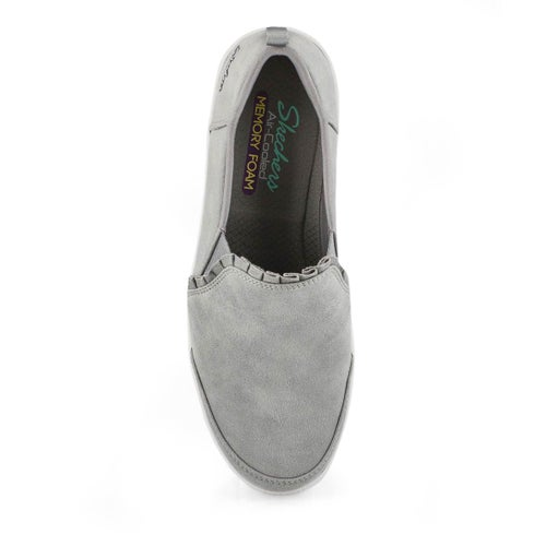 Lds Madison Ave City Soul grey slip on