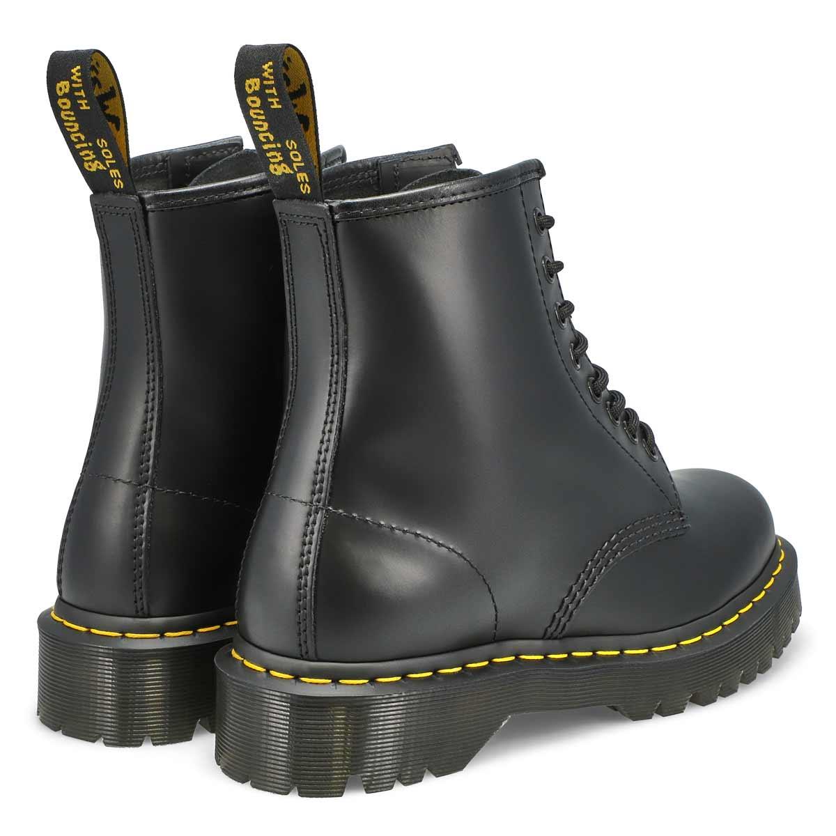 Bottes 8œillets 1460 BEX, cuir, noir, femmes