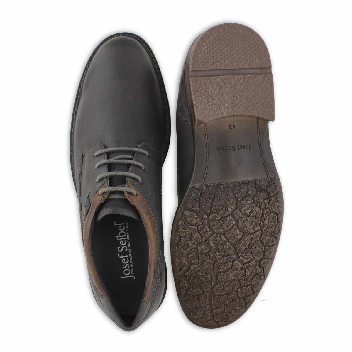 Men's EARL 05 graphit laceup casual oxfords