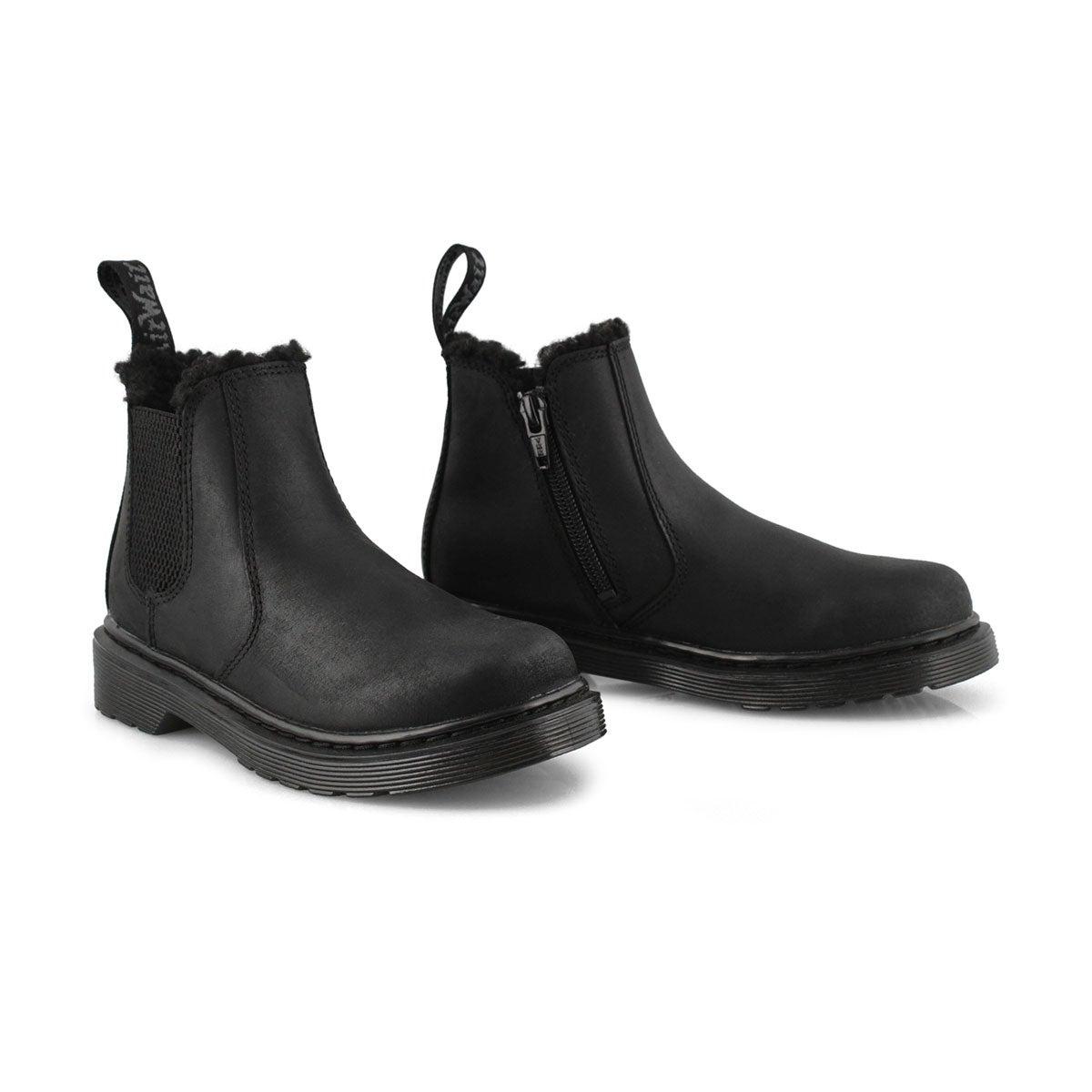 Kid's 2976 Leonore Mono Junior Chelsea Boot - Blk