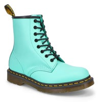 Women's 1460 8-Eye leather boots - pepprmint green