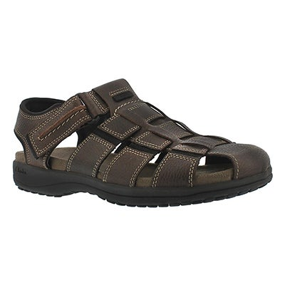 Clarks Men's JENSEN brown fisherman sandals