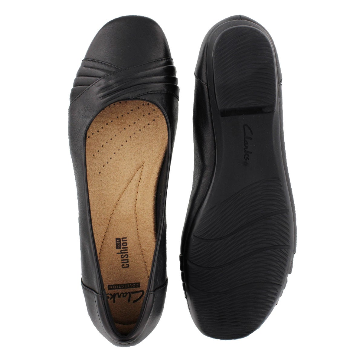 Lds Blanche Cam black slip on dress shoe
