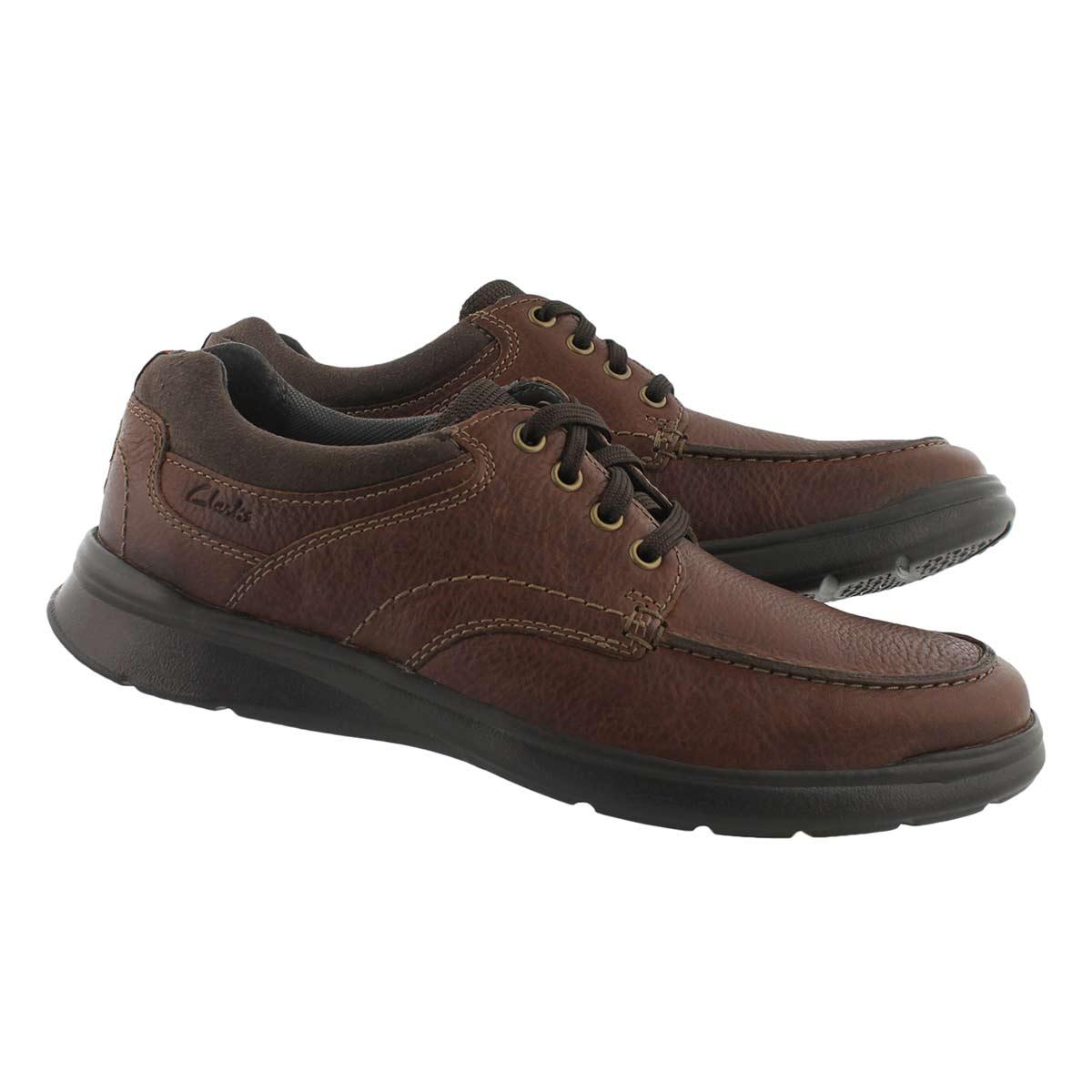 Men's COTRELL EDGE tobacco lace up shoes