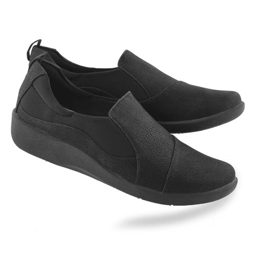 Lds Sillian Paz black casual loafer