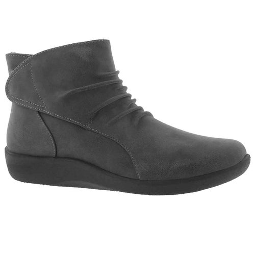 Lds Sillian Sway grey slip on boot