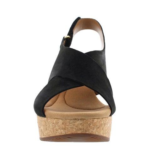 Sandale comp. Annadel Eirwyn, noir, fem