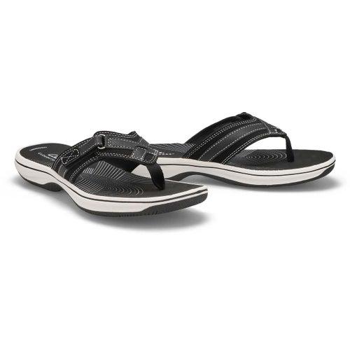 Lds Breeze Sea black thong sandal