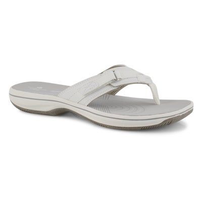 Sandales tongs BREEZE SEA, blanc, femmes