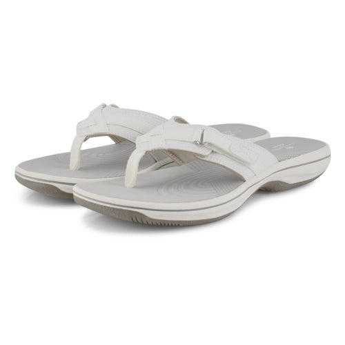 Sandale tong Breeze Sea, blanc, fem