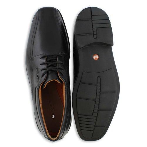 Mns UnKenneth Way black dress shoe-wide