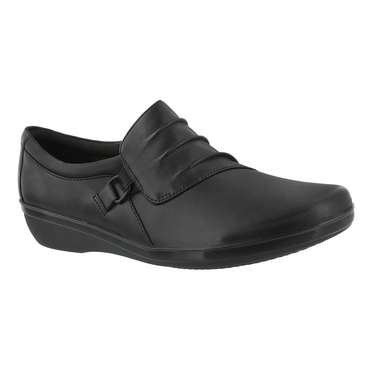 Women's EVERLAY HEIDI  black slip ons - Wide