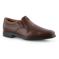 Mns UnSheridan Go brn dress loafer-wide