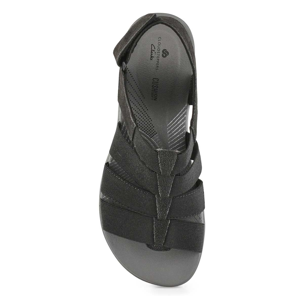 Women's Arla Shaylie Casual Wedge Sandal - Black