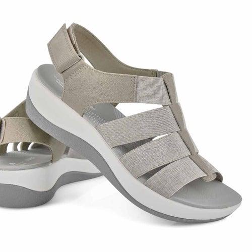 Lds Arla Shaylie snd casual wedge sandal