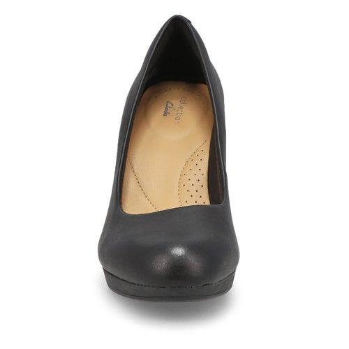 Lds Adriel Viola black dress heel